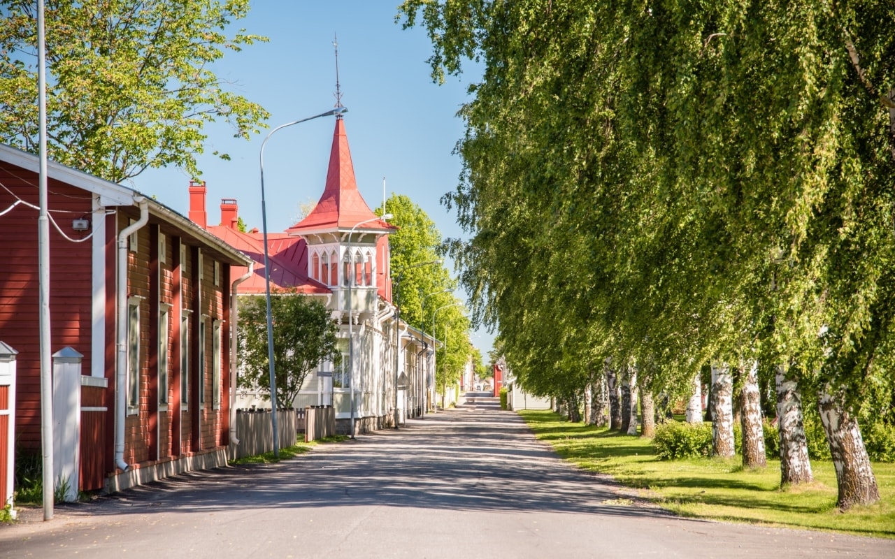 Located in southern Finland, Kristinestad is named after Queen Kristina of Sweden