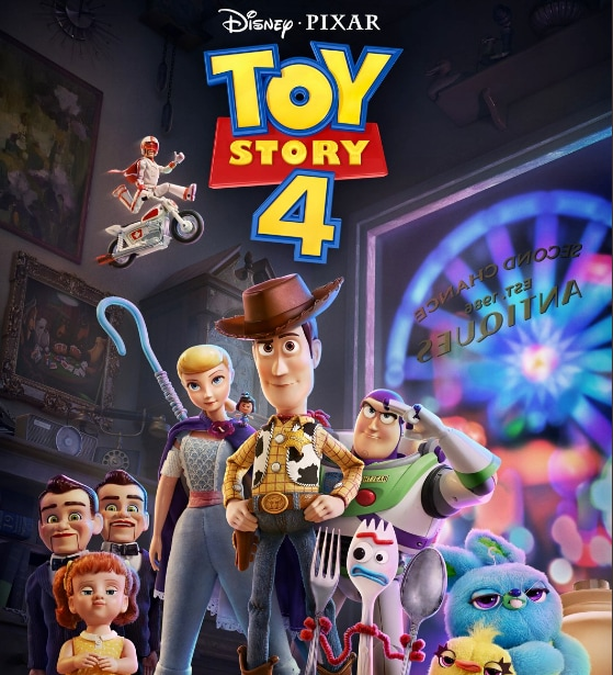 Toy Story 4 (June 21) — Woody, Buzz and Bo Peep are back with old and new pals, like Forky, in this sure-to-be emotional sequel about everyone's favorite sentient toys. (Image: Twitter/Caption: AP)