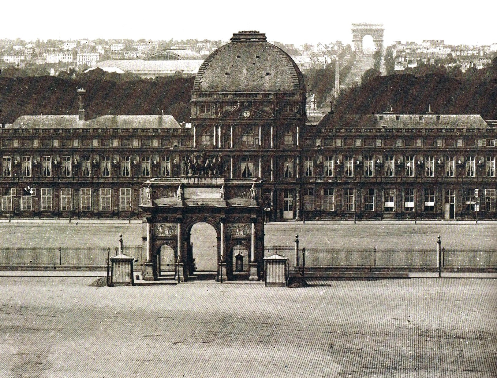 Tuileries Palace — Paris, France: Tuileries Palace was built as a royal residence in 1564 as commissioned by Catherine de Médici, queen consort of Henry II of France. The palace was destroyed in 1871 due to arson.