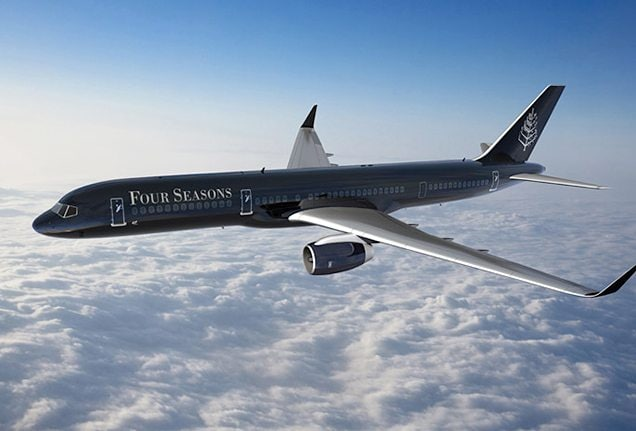 Inside the Four Seasons' Rs 1.02-crore-a-seat ultra luxurious private jet