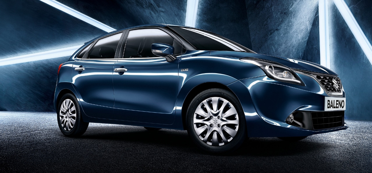 #5: Premium hatchback Maruti Baleno sold 11,420 units compared to last year's 18,631. (Image: MSI website/Caption: PTI) (MSI website)