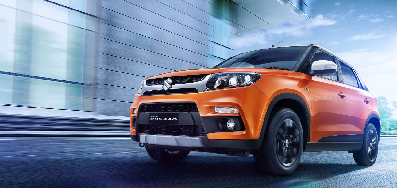 Maruti Vitara Brezza: The car, which got the 'most popular SUV' tag in 2017, is sold in both petrol and diesel variants. The price starts at Rs 7.85 lakh and goes upto Rs 10.78 lakh. According to reports, the auto maker will launch a 1.5 petrol engine variant next year. (Image: MSI website)