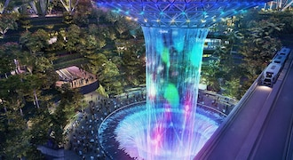 First Look: Here is a sneak preview of Jewel Changi Airport in Singapore