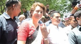 Lok Sabha polls: Priyanka Gandhi votes, says BJP will be ousted