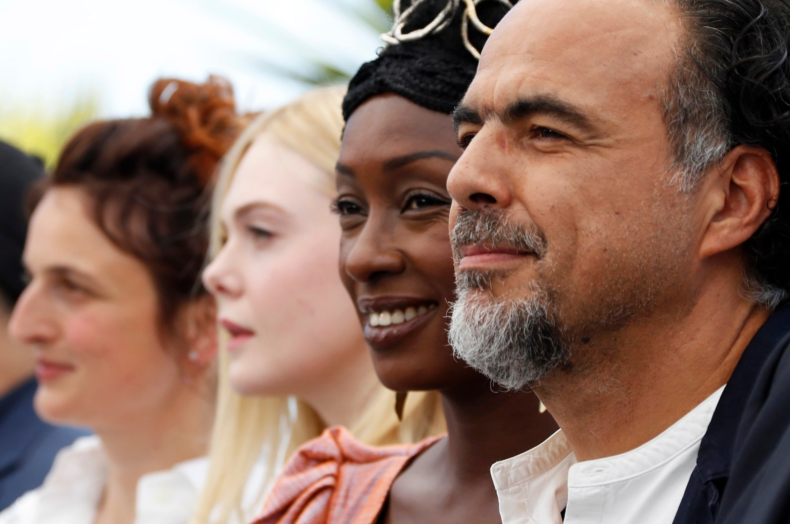 Director Alejandro Gonzalez Inarritu, Jury President of the 72nd Cannes Film Festival, and Jury members Alice Rohrwacher, Elle Fanning and Maimouna N'Diaye pose in Cannes, France, May 14, 2019. REUTERS/Eric Gaillard