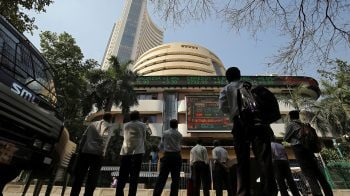 Sensex trades over 400 points higher, Nifty above 10,700; Wipro rallies 10%