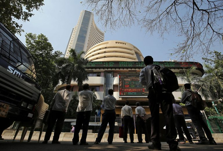 Sensex scales 40,000 peak, Nifty breaches 12,000 for first time as polls show Modi returning to power