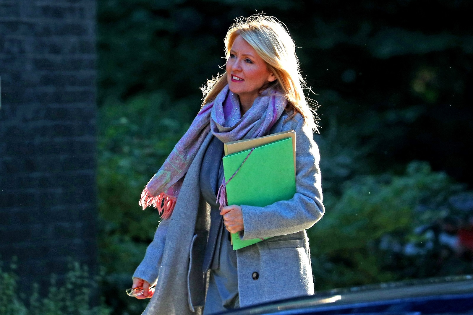 Britain must quit the European Union at the end of October even if that means leaving without a deal, Conservative lawmaker Esther McVey, one of the candidates to succeed Theresa May as prime minister, said on Sunday.