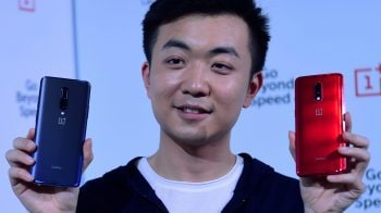 Behind the scenes: Co-founder Carl Pei at OnePlus 7 Series launch event in Bengaluru