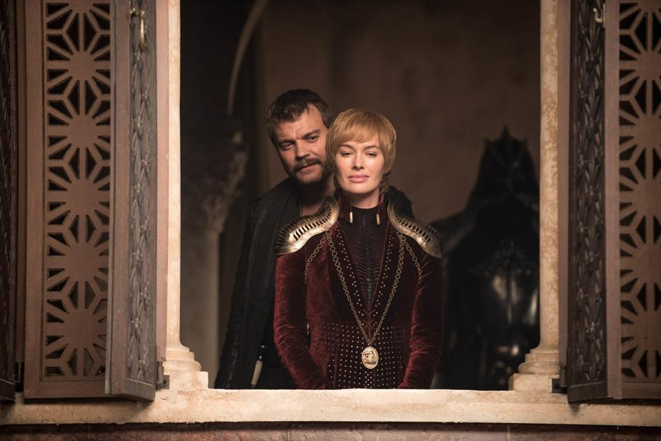 Pilou Asbæk as Euron Greyjoy and Lena Headey as Cersei Lannister in Game of Thrones. (Courtesy: HBO)