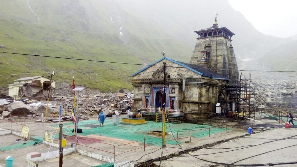 Kedarnath temple closes for winter