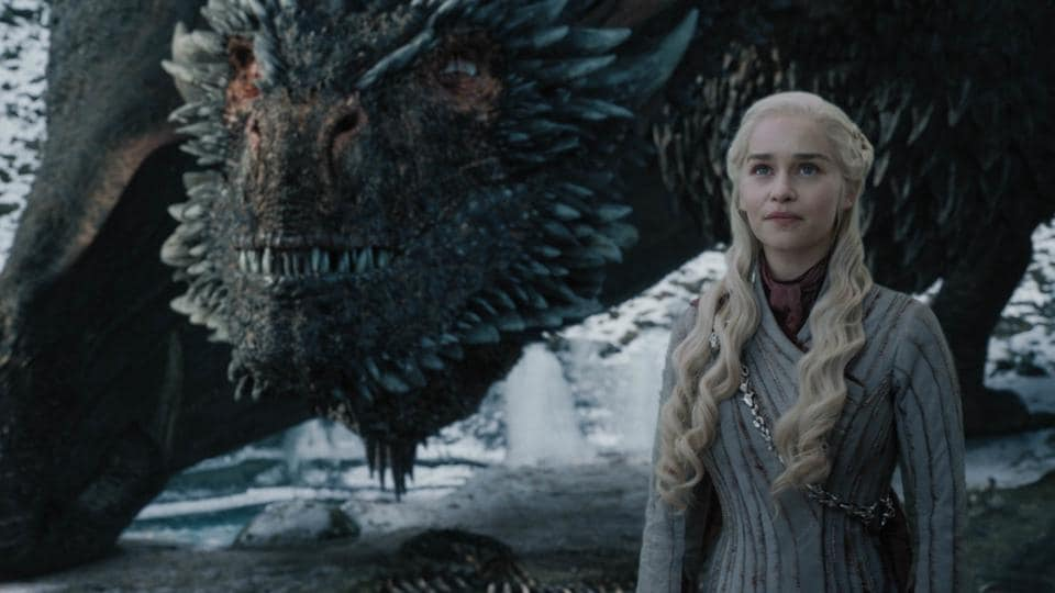Emilia Clarke as Daenerys in Game of Thrones. (Courtesy: HBO)
