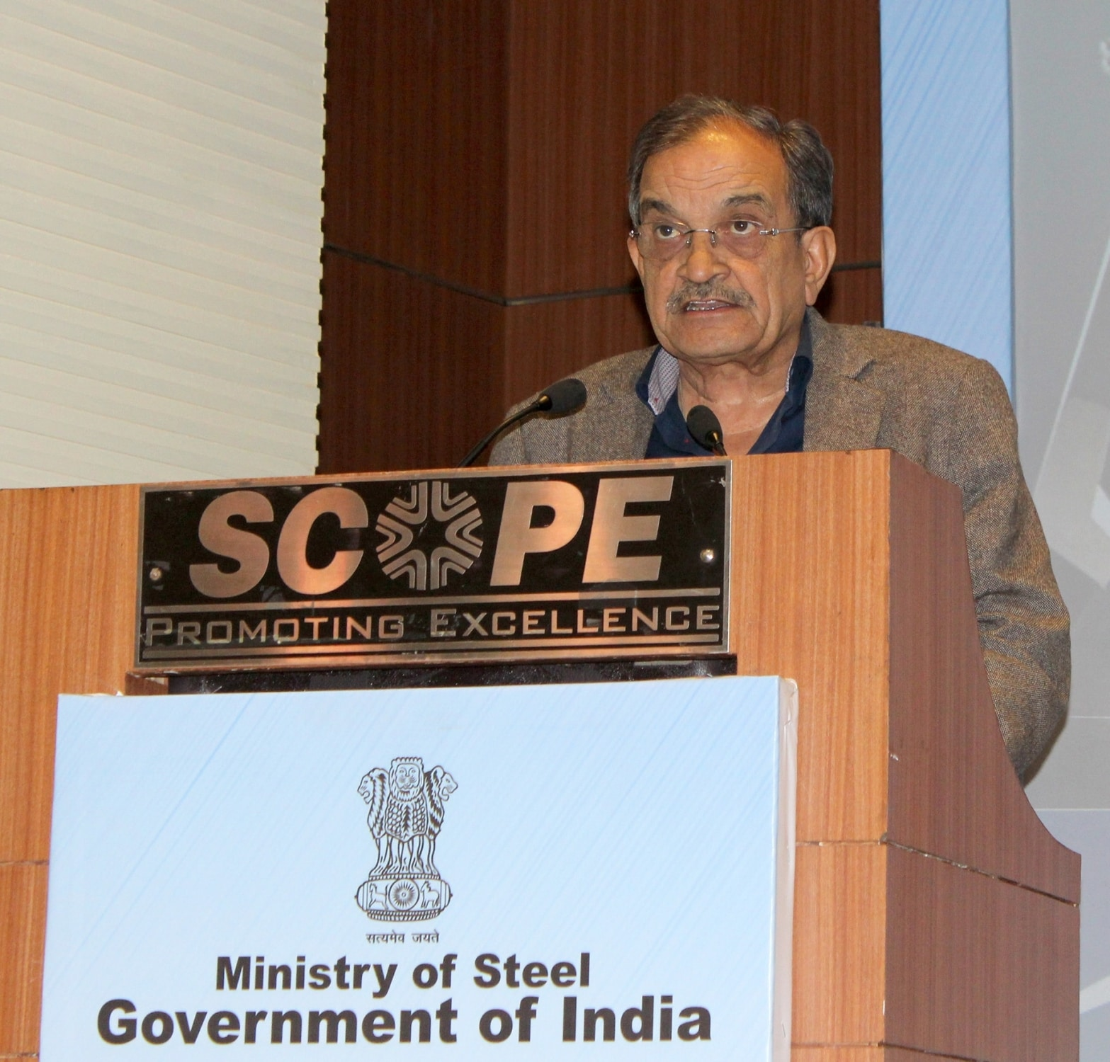 Chaudhary Birender Singh, union steel minister, in the previous government, was dropped from the new cabinet.