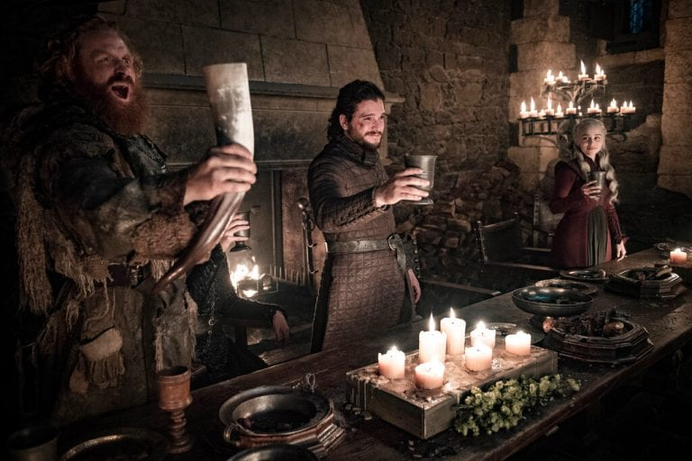 Starbucks coffee cup in 'Game of Thrones' season 8, episode 4 scene perks up viewers