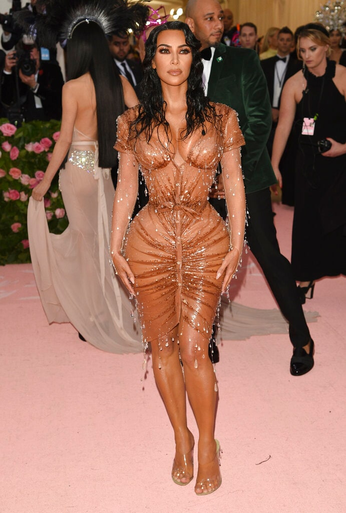 Kim Kardashian attends The Metropolitan Museum of Art's Costume Institute benefit gala on Monday, May 6, 2019, in New York. (Photo by Evan Agostini/Invision/AP)