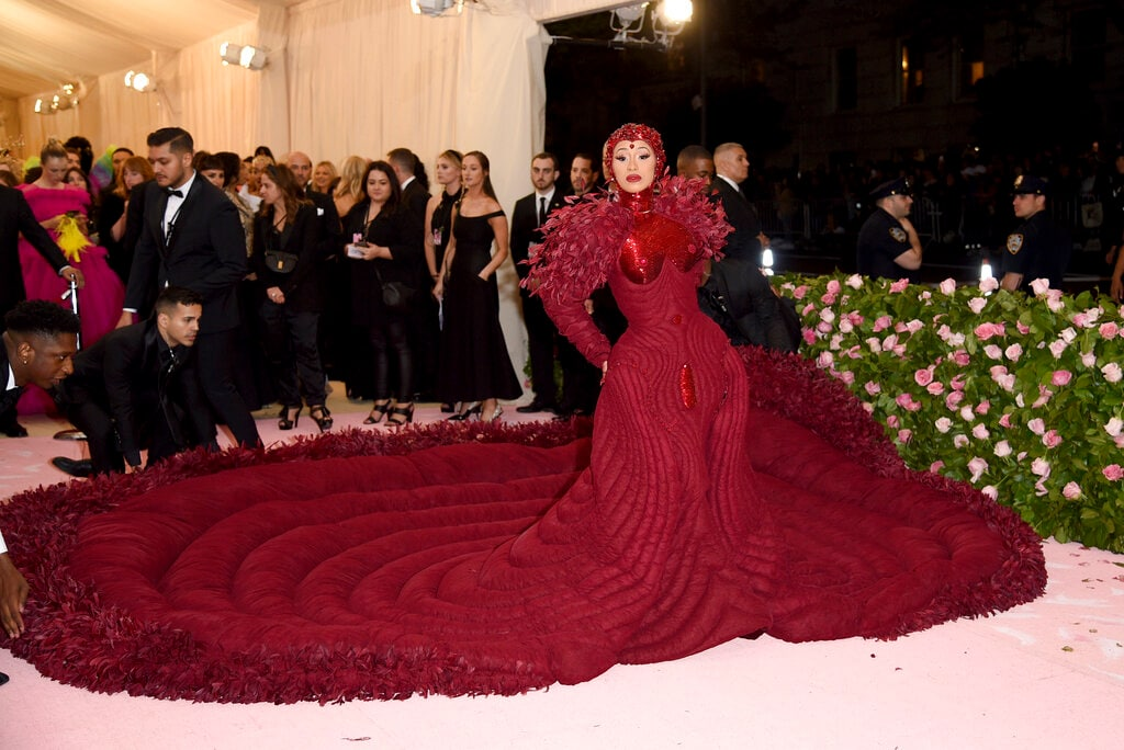 Cardi B attends The Metropolitan Museum of Art's Costume Institute benefit gala celebrating the opening of the