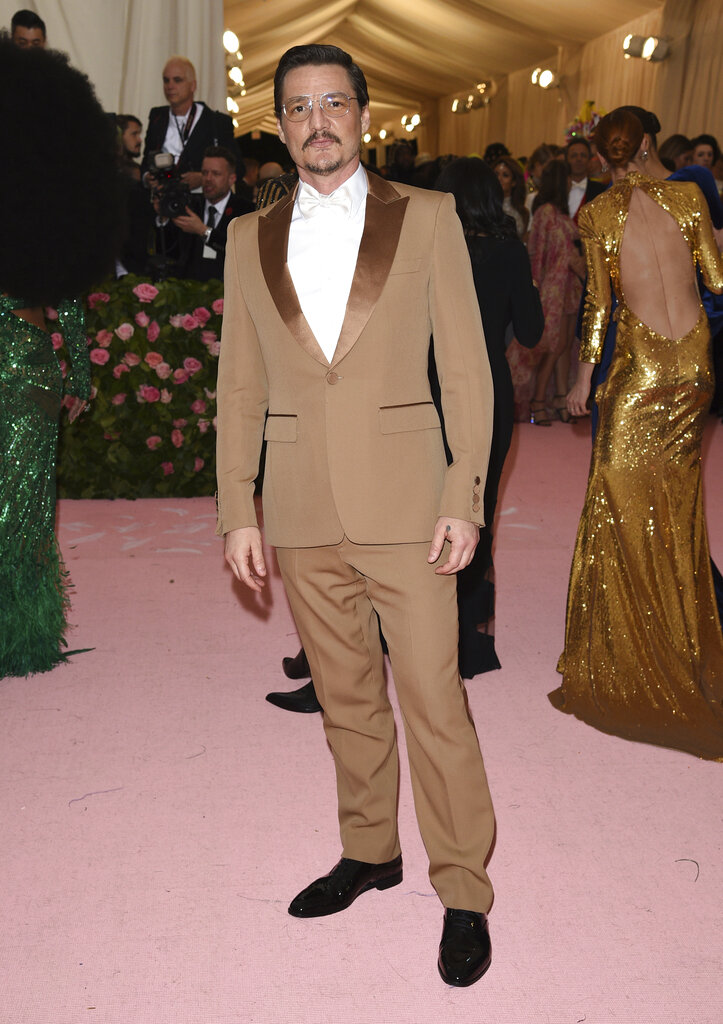 Pedro Pascal attends The Metropolitan Museum of Art's Costume Institute benefit gala on Monday, May 6, 2019, in New York. (Photo by Evan Agostini/Invision/AP)