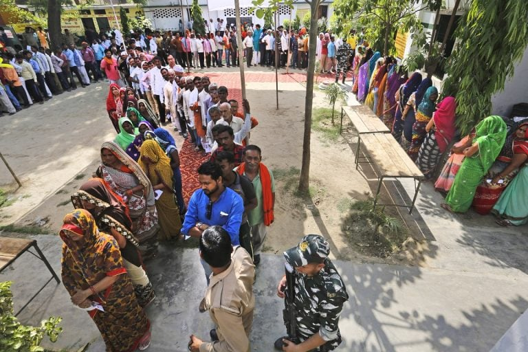 More than 64% voting recorded in the last phase of Lok Sabha elections