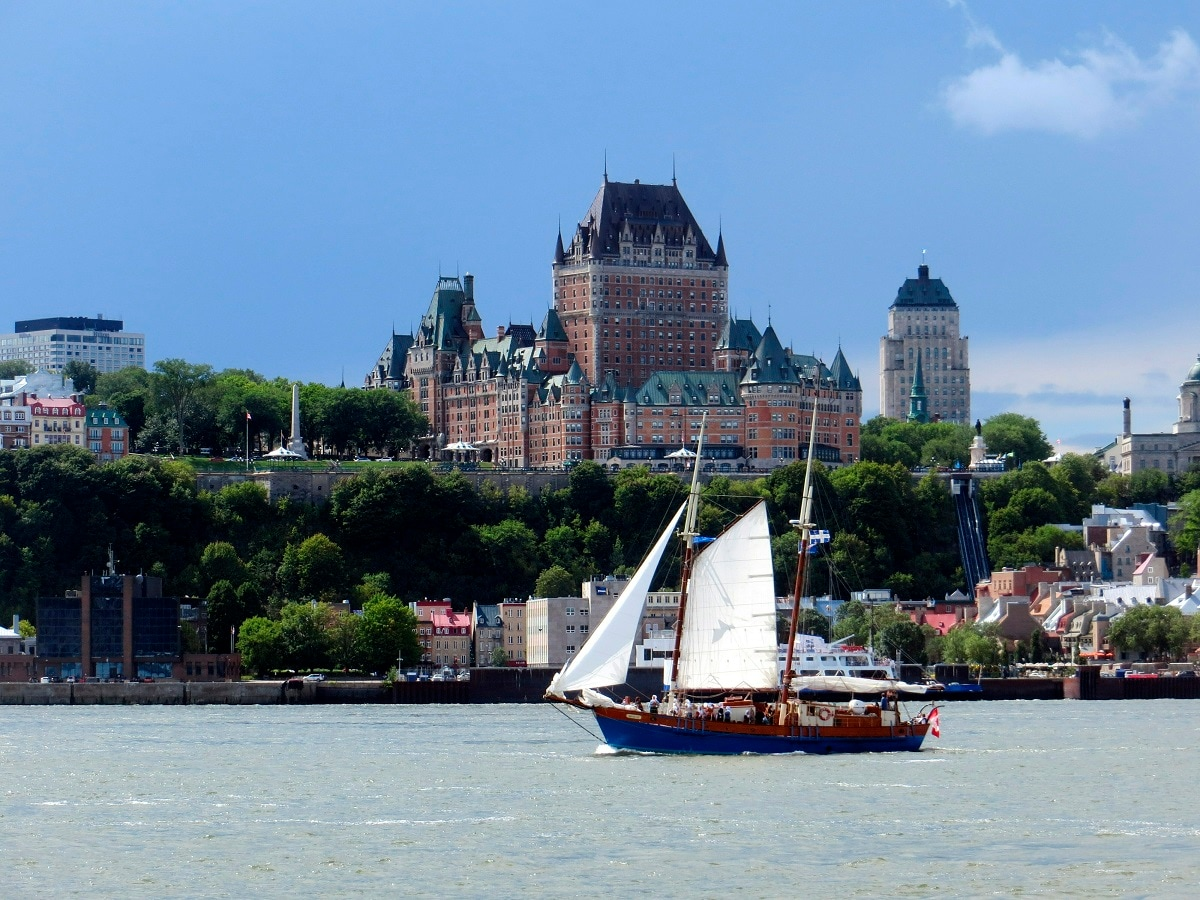 3: Coming in third is Quebec City, the capital of the Canadian province of Quebec. (AP Photo)