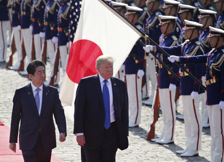 Golf and sumo in Trump's Tokyo itinerary