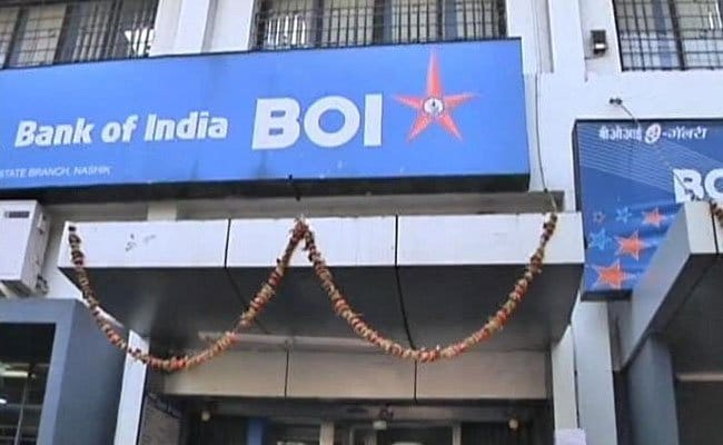 Bank of India fell 3.3 percent to hit its 52-week low of Rs 64.35 per share. (Image: Company)