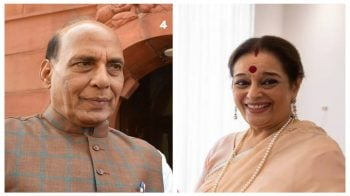 Lok Sabha election results 2019: Home Minister Rajnath Singh leads Poonam Shatrughan Sinha of Mahagadbandhan in Lucknow by over 1,27,000 votes