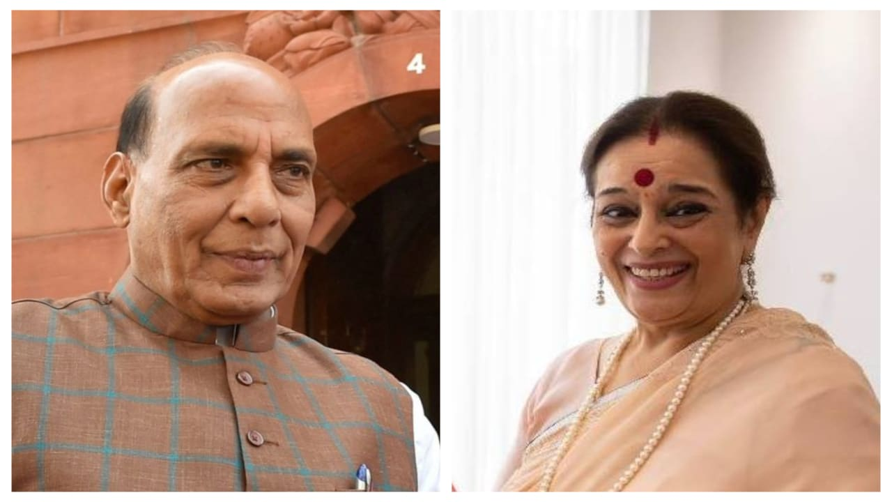 <strong>Rajnath Singh vs Poonam Sinha (Lucknow):</strong> Rajnath Singh had won the Lucknow seat in 2014 garnering 55.7 percent of the total 10,06,483 votes polled and winning in all the five assembly segments of the parliamentary constituency. The Mahagathbandhan has fielded actor Poonam Sinha, the wife of former BJP MP Shatrughan Sinha. There is reportedly four lakh Kayastha voters and 1.3 lakh Sindhi voters in Lucknow, apart from 3.5 lakh Muslims, which is expected to benefit Poonam due to her Sindhi ancestry and Shatrughan's Kayastha background. Sinha is also the richest candidate in the country's fifth phase polls with total assets of Rs 193.54 crore. ( Image courtesy: Facebook)