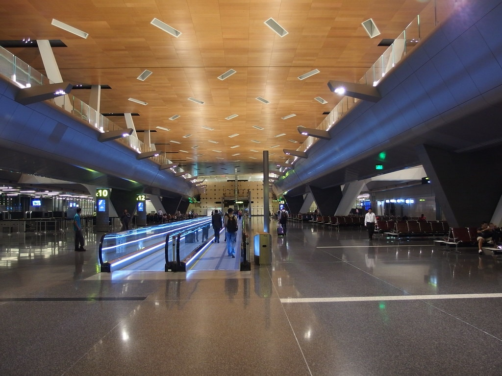 <strong>Hamad International Airport</strong>- Hamad International Airport is the international airport of Doha, the capital city of Qatar. It replaced the former Doha International Airport as Qatar's principal airport.