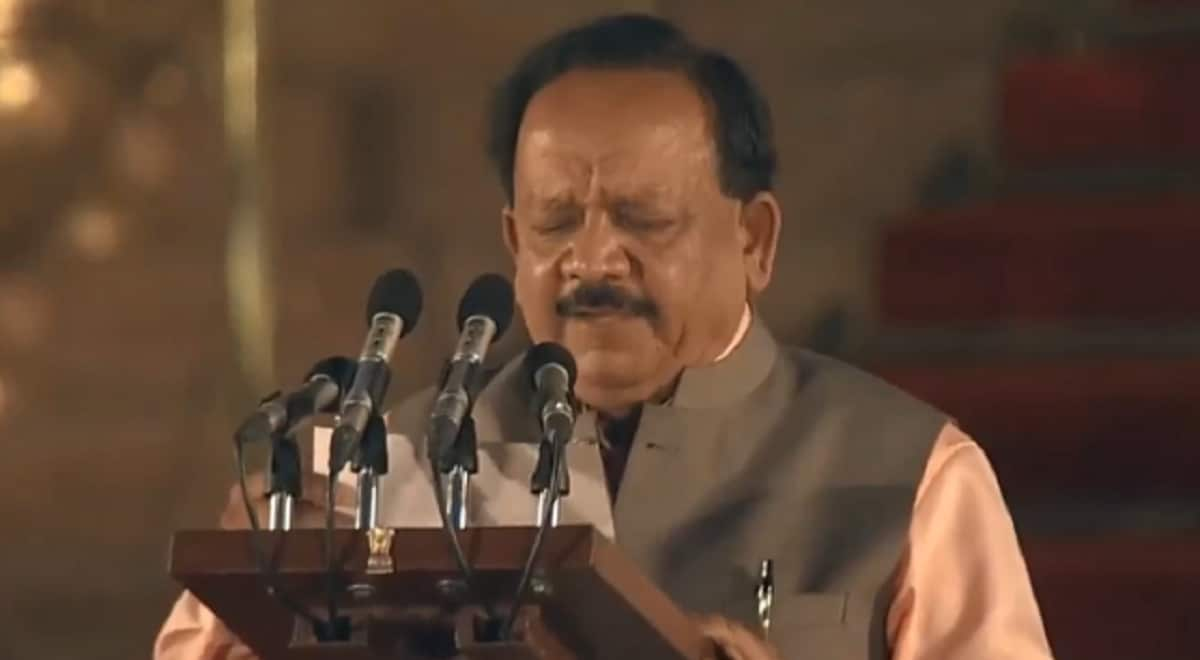 Harsh Vardhan- Credited with launching the Polio Eradication Plan, Harsh Vardhan was the minister for Science and Technology in the first Modi government and joins the new Cabinet as well after a comprehensive victory from Delhi's Chandni Chowk