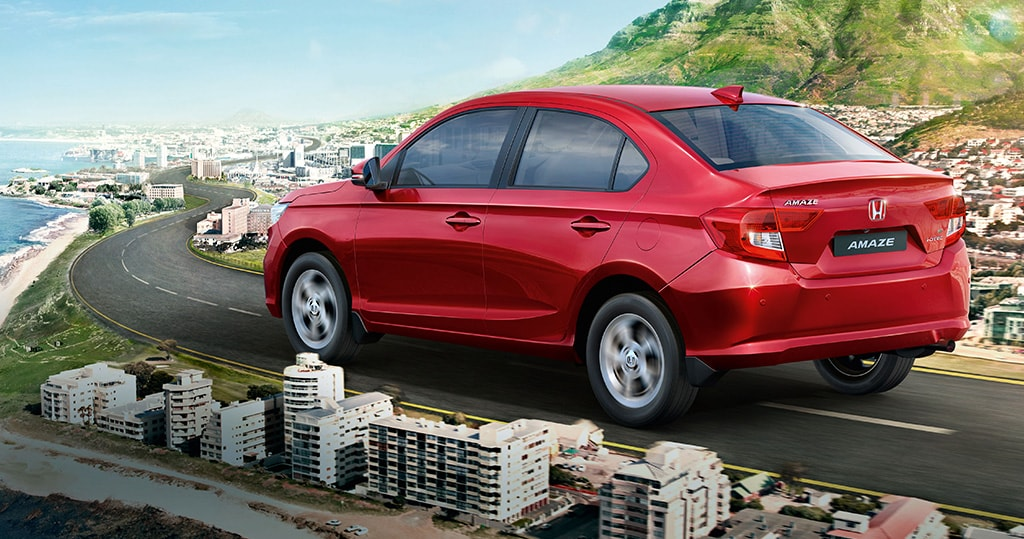 Honda Cars India launched an all new Amaze VX CVT version in both petrol and diesel options. While Honda Amaze VX CVT petrol is priced at Rs 8.57 lakh (ex-showroom, pan-India), the diesel variant will cost a person Rs 9.57 lakh. Honda Amaze recorded 5,774 sales. Photo: Honda