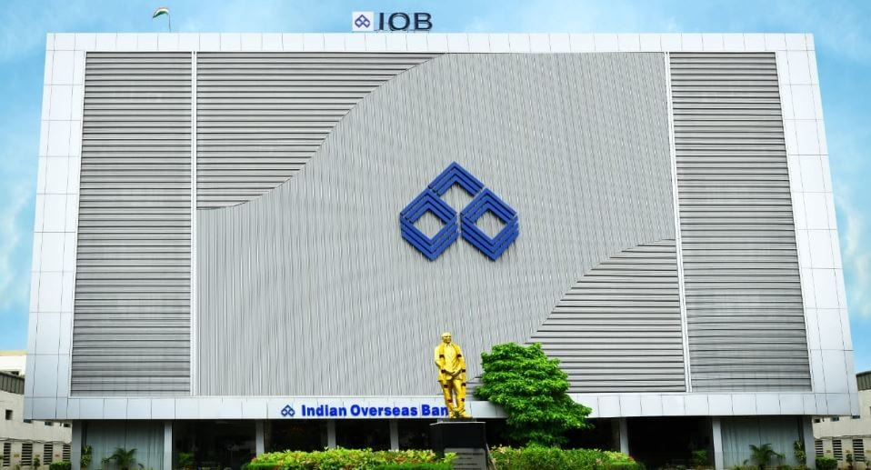 Indian Overseas Bank: The Revenue Department has levied a penalty of Rs 10.4 lakh on it for a delay in filing certain threshold based reports. (Image: Company)