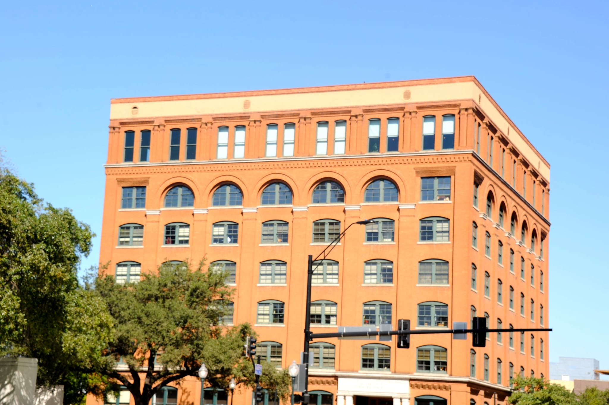 The Assassin's hideout in Dallas, Texas: It was in 1898 that the Southern Rock Island Plow Company built a 5-story building at the northwest corner of Houston and Elm streets in Dallas. Many years later, within minutes of the assassination of JFK, the building (later Texas School Book Depository) became the primary crime scene for the shooting after evidence of a sniper was found on the sixth floor. A Depository employee, Lee Harvey Oswald, was arrested for the murder of a Dallas police officer within 80 minutes of the assassination and later charged with the assassination of the president. Photographed here is the building which is now The Sixth Floor Museum. <strong>(Photo courtesy: Preeti Verma Lal)</strong>