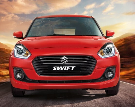 #2 Maruti Swift: Maruti's popular hatchback Swift was the second best-selling model last month clocking 19,401 units. The first-ever Maruti Swift was launched in May 2005 in the petrol and diesel variant. (Image: MSI website/Caption: PTI)