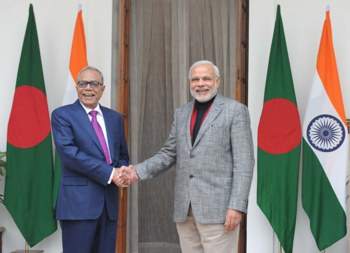 India invited all BIMSTEC nations (Bay of Bengal Initiative for Multi-Sectoral Technical and Economic Cooperation), Kyrgyzstan and Mauritius for the swearing-in ceremony of Prime Minister Narendra Modi and his Council of Ministers on May 30. Abdul Hamid, President of Bangladesh has confirmed his participation at Modi's swearing-in ceremony.