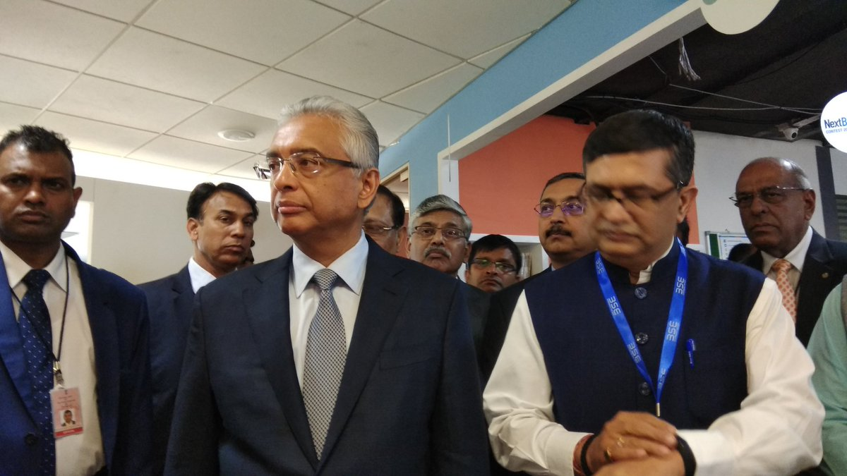Pravind Kumar Jugnauth, Prime Minister of Mauritius have also confirmed his attendance at the swearing in ceremony of Narendra Modi.