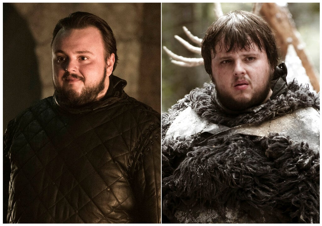 John Bradley as Samwell Tarly. Young Samwell wanted to be a scholar or maester in Game of Thrones-speak, but it wouldn't be a worthy pursuit in the eyes of for his father and Tarly family patriarch, Randyll, who disparages his dreams by calling it