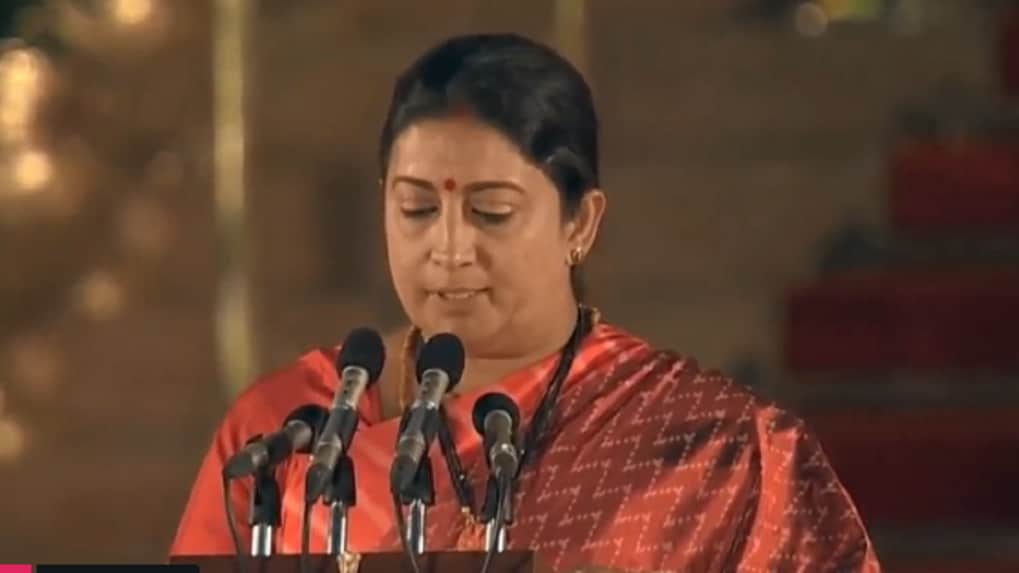 Narendra Modi Government 2.0: Smriti Irani inducted as cabinet rank minister, giant killer gets rewarded for big Amethi win