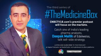Biologics and complex chemistry will dominate pharma sector over the next 5 years, says Deepak Mallik of Edelweiss