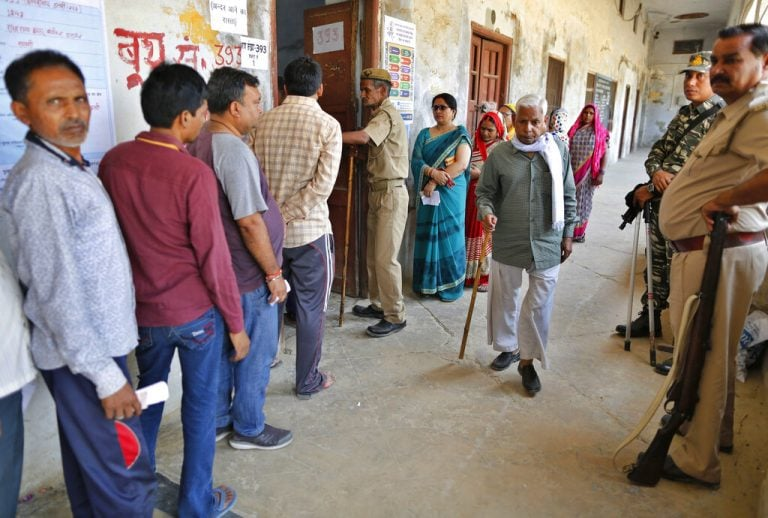 UP bypolls: Voting under way in 11 assembly seats, BJP prestige at stake in Lucknow seat