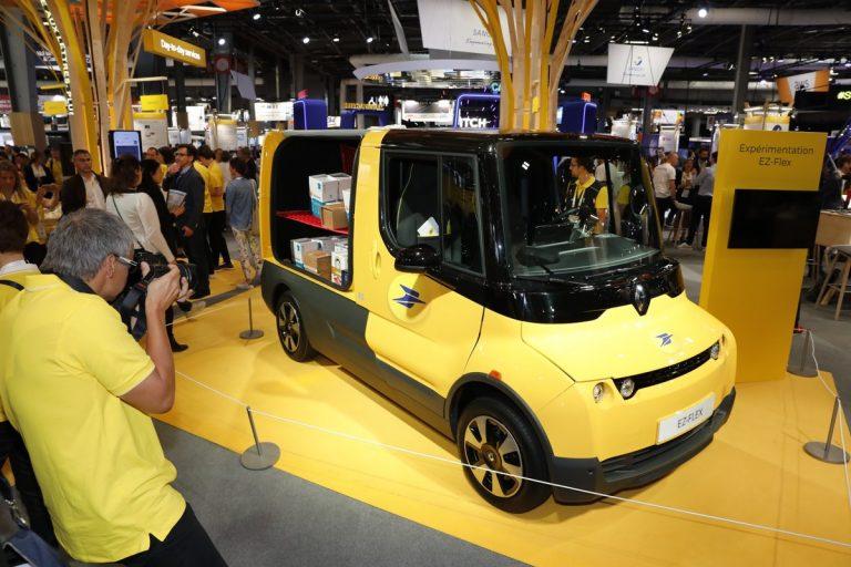 Renault showcases three electric concept-cars at Paris