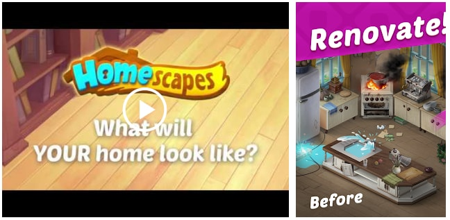 10. Homescapes: The free-to-play video game was released by Playrix in September 2017. The game is available on iOS, Android and Amazon App Store. Homescapes is a Gardenscapes spin-off and shares the same gameplay concept, combining traditional match-3 mechanics with a well-developed storyline. The game's protagonist is also the same: Austin the Butler. Priori Data tranks it at No.10.