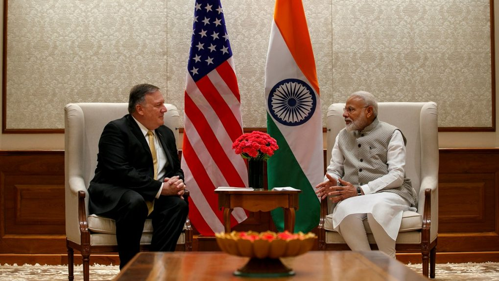 US Secretary of State Mike Pompeo meets PM Narendra Modi for talks on trade, defence