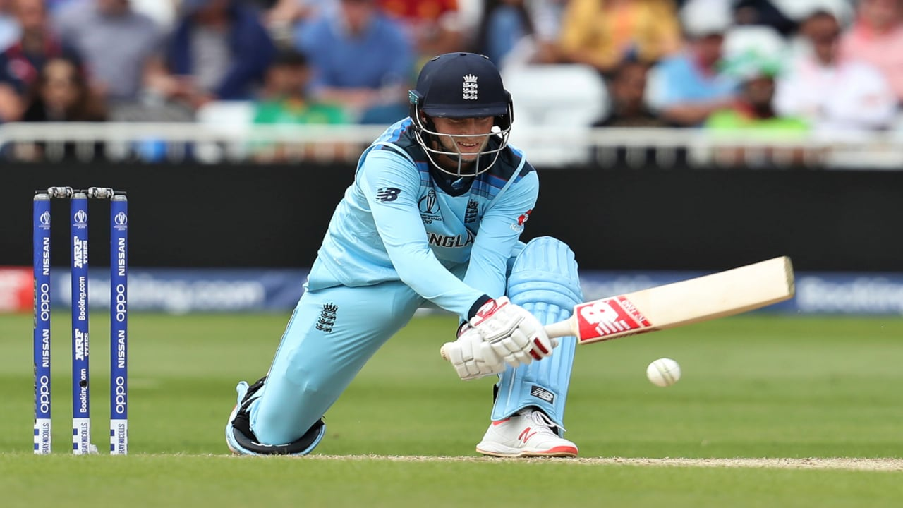 England's Joe Root bats during the Cricket World Cup match between England and Pakistan at Trent Bridge in Nottingham, Monday, June 3, 2019. (AP/PTI)