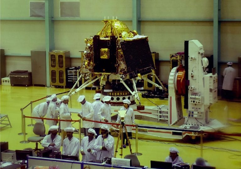 Chandrayaan-2 rover-lander tested on 'moon surface' created with Salem soil