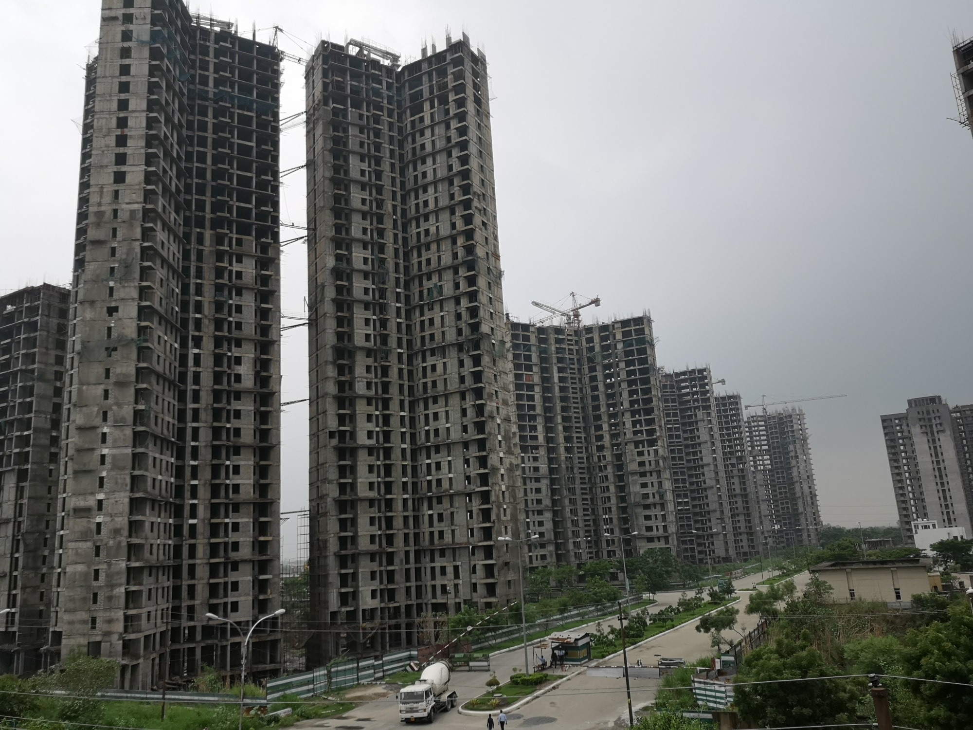 9. Fitch Ratings On Developers: With non-bank financial companies (NBFCs) and housing finance companies becoming risk averse towards lending to real-estate sector, developers are likely to face a liquidity crisis, says a report. Majority of the developers with a weak balance sheet depend on the parallel banking sector for funds. These players are likely to be affected the most if the situation persists. (Image: IANS)