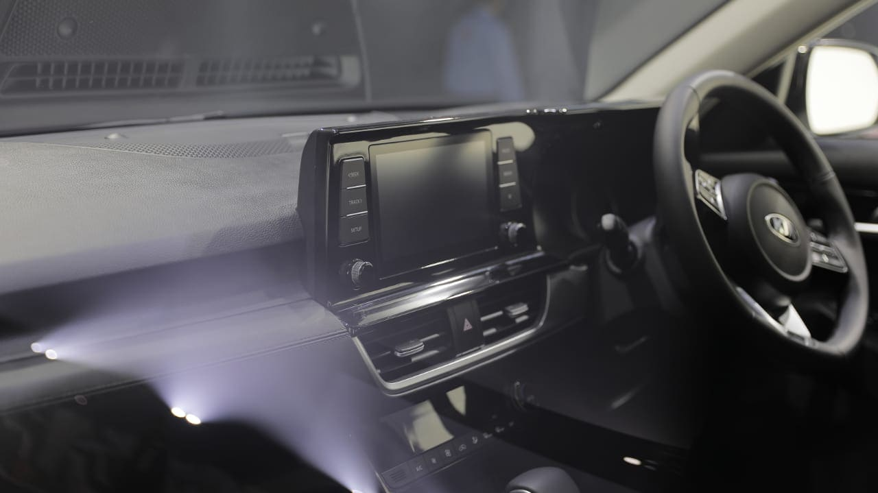 The car will come with a segment-first 8-inch head-up display.