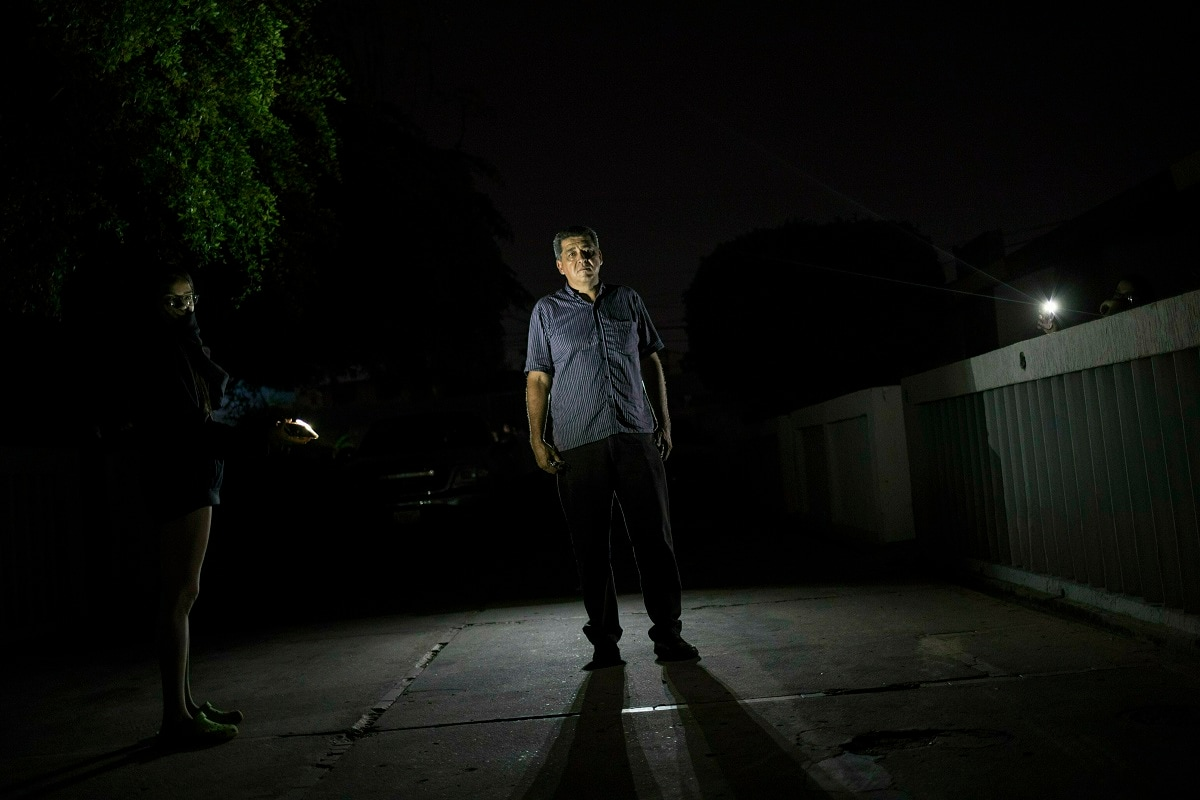 As Venezuela's crisis deepens, the sale of electric generators is one of the few growth industries in the once-wealthy oil nation, whose residents struggle to get through each day as public services crumble. (AP Photo/Rodrigo Abd)