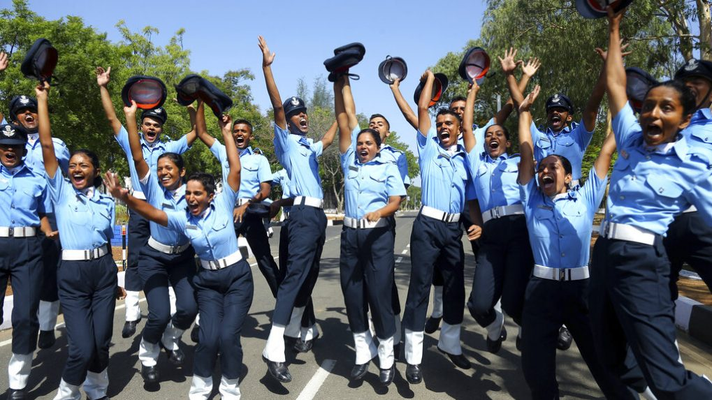 Catch the graduation of Indian Air Force cadets