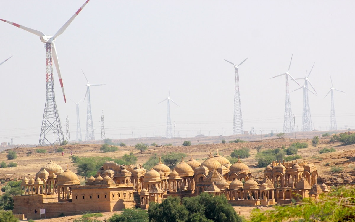 5: At 12th spot with mercury levels rising as high as 47.8°C is the city of Jaisalmer. (Source: Wikimedia Commons)