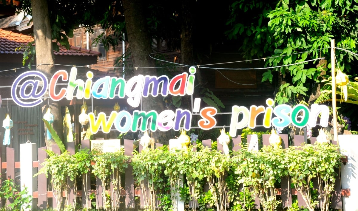 Massage by a prisoner: Welcome to the Prison. In Rachvithi Road, a signboard above a rattan swing with red cushions welcomes walk-ins and promises a relaxing massage by a criminal. It sounds like a con-woman's ploy, but it is not. Yes, these women are prisoners who are brought in every morning from the correctional facility to offer massage – it's a massage rehabilitation program to help the inmates make a living after their release.